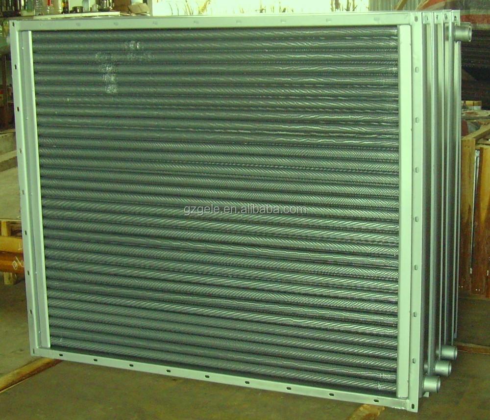Scambiatore di calore aria tubo a serpentina in acciaio - Scambiatore di aria ...