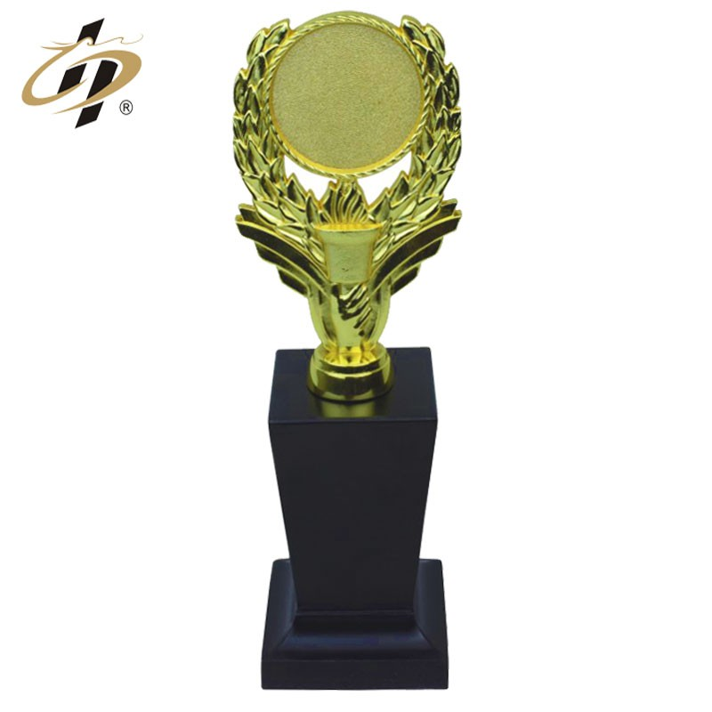 Factory wholesale zinc alloy 3D gold sports award trophy cup