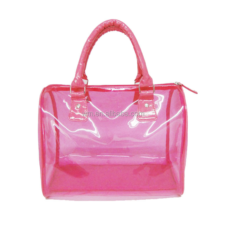 hot cheap lady hand bag ,transparent handbag manufacturer