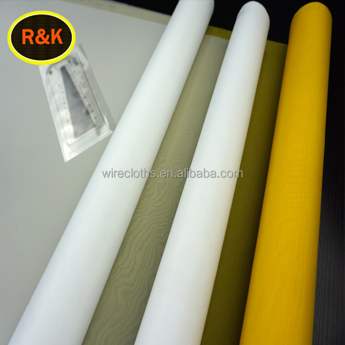 110 Screen Printing Mesh /Polyester Mesh Bolting Cloth Roll