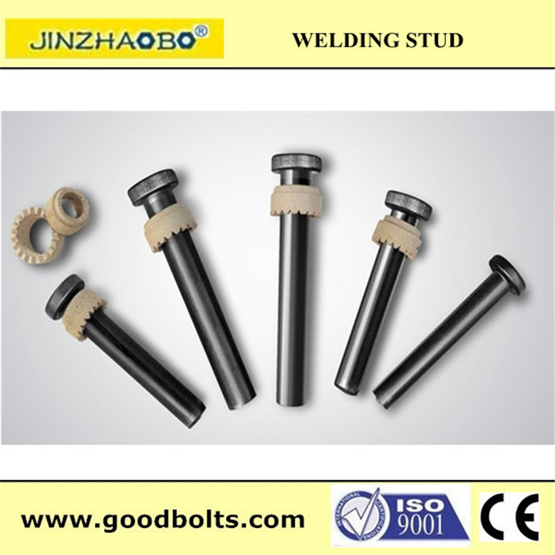 Structural Bolts hot dip galvanized connector bolt / shear stud / Head neison shear stud( CE certificate )