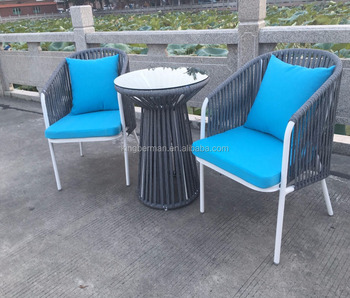 New Design Garden Furniture PE Rope Table and Chairs Hotel Swimming Pool Table Chairs Furniture & New Design Garden Furniture Pe Rope Table And Chairs Hotel Swimming ...