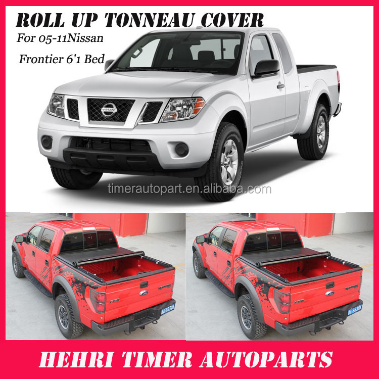 4x4 accessories truck canopy tonneau cover for Frontier 6'1 Bed 05-11