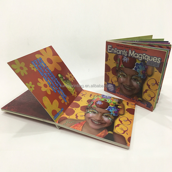 Manufactory Supplier for Children's Board Book Online Printing Service