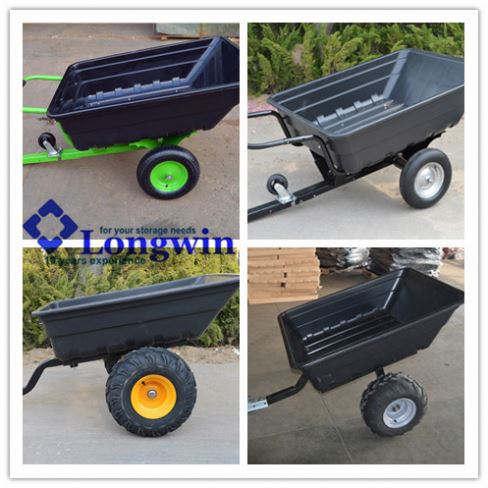 Poly trailer, ATV farm trailer, atv utility carts