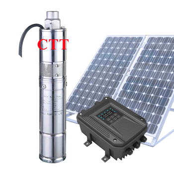 Solar Powered Water Pump Guangzhou 1hp Submersible Prices In India 304SS Centrifugal Price