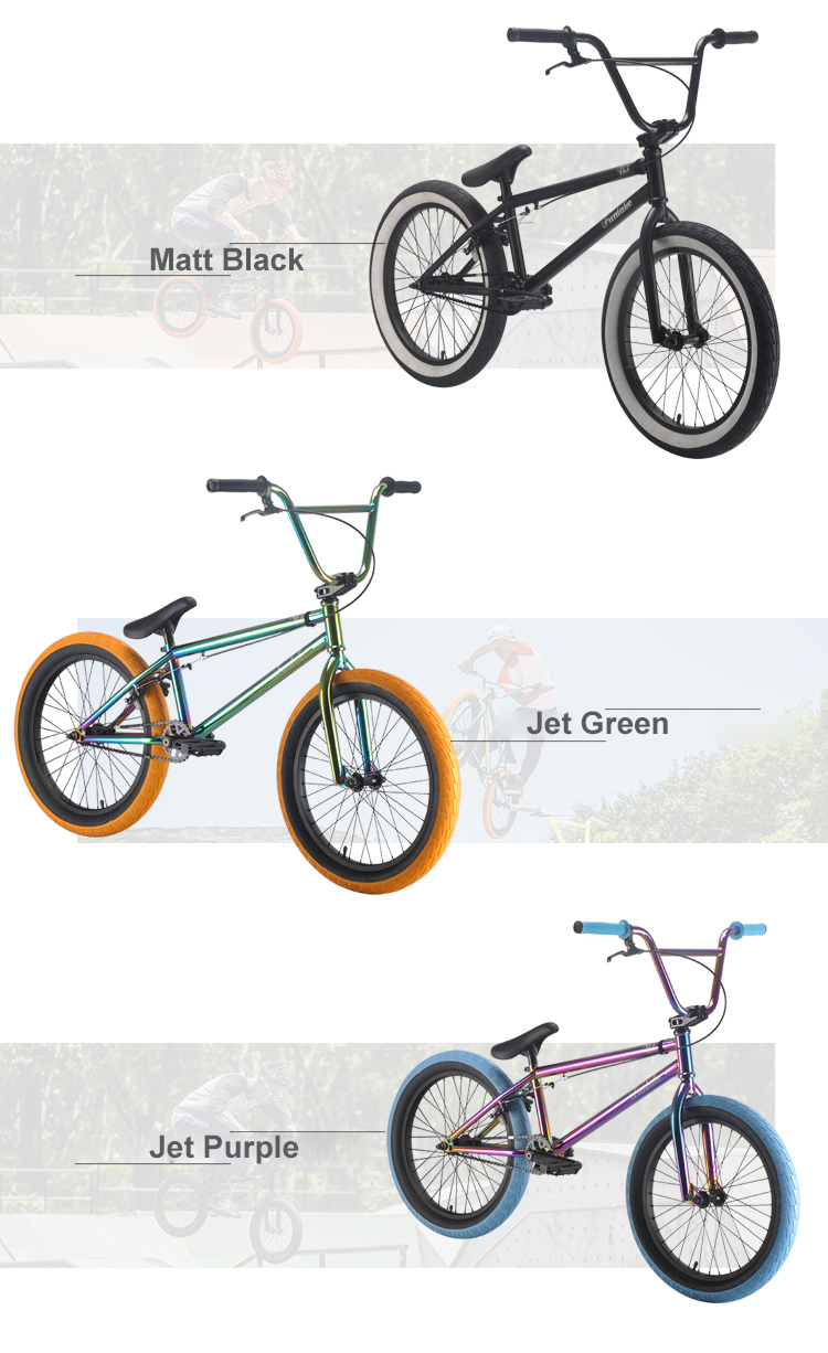Custom cheap all kinds of price purple 20'' racing bicicleta bmx bicycle mini freestyle bikes bmx bike for adult teenagers boys