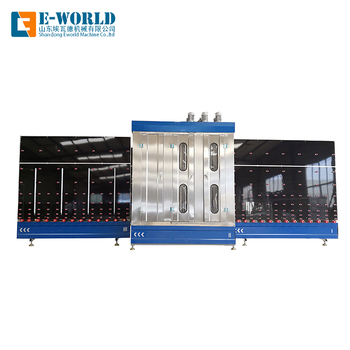 Automatic Vertical glass washing machine with competitive price