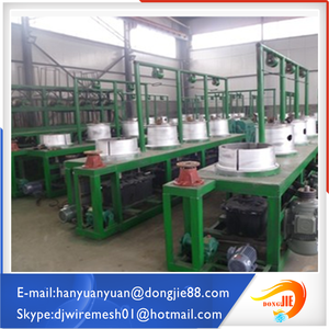 Medium size cold rolled type Straight Line wire drawing machine