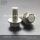 gr8.8 steel full threaded hex jack bolts