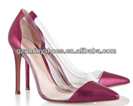 Elegant pointed toe dress pump shoes