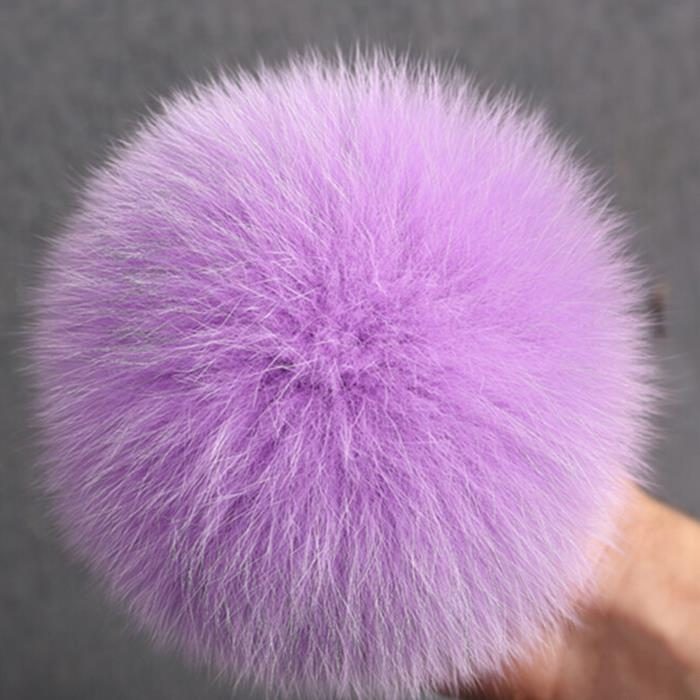 Fashion Hat Accessories Fur Ball Hotsale Wholesale Genuine Fox Fur Pom Poms Balls