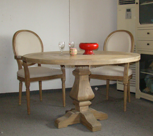 French style round dinning room tables for small spaces