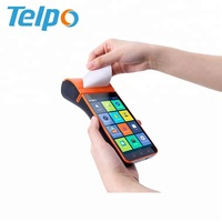 android nfc reader barcode scanner point of sale with thermal printer