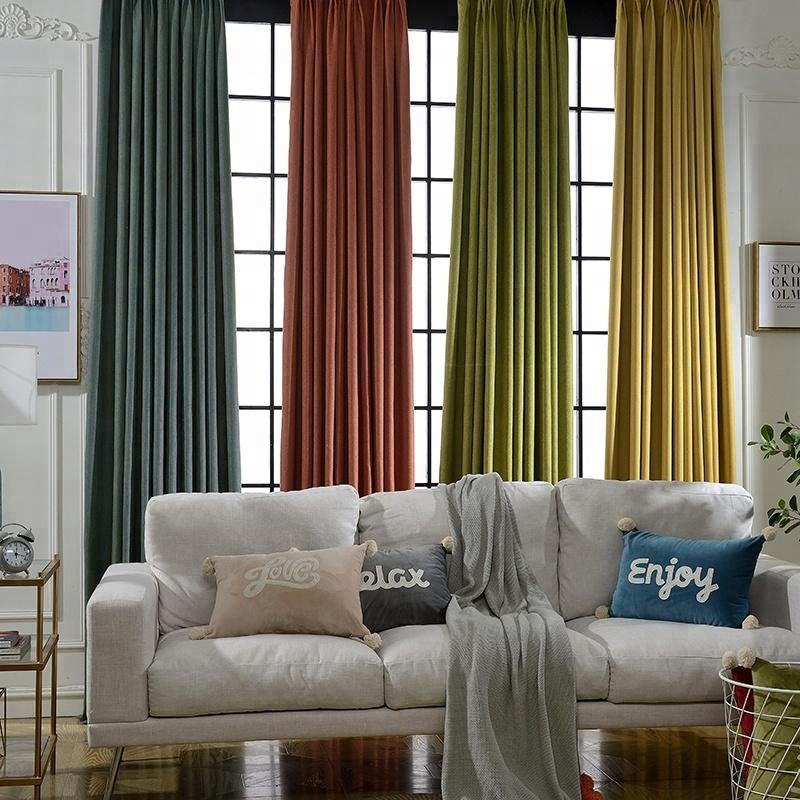 Venta al por mayor cortinas modernas para comedor-Compre ...