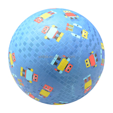 High quality outdoor sport ball custom printing colorful rubber playground ball