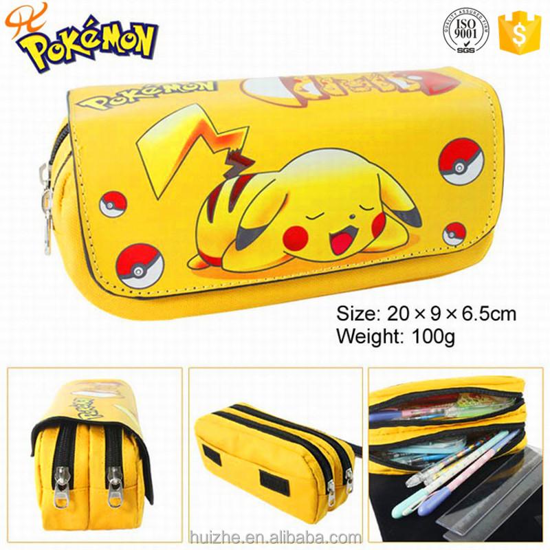 Fashion Pokemon Zipper Pencil Case/ Pencil Bag China Supplier ...