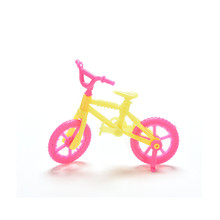 ICTI certificated custom made miniature toys bicycles 4cm