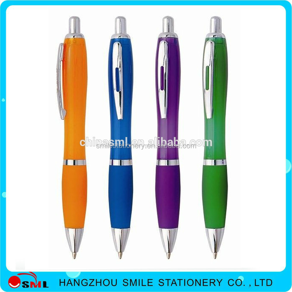 Customized Logo Cheap Imprinted Promotional nice plastic parker ball pen