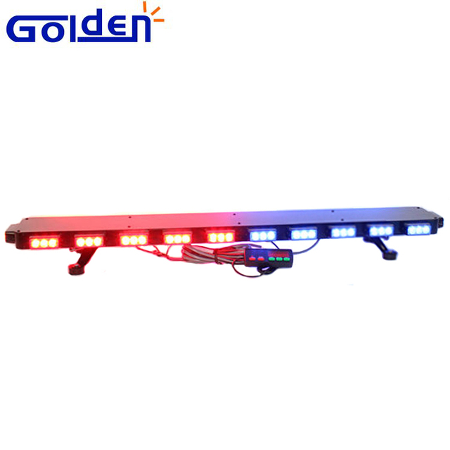 Police light bar red source quality police light bar red from full size led warning lightbar emergency truck used police light bar red blue color 120cm 48 mozeypictures Gallery