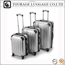 Abs Plastic 24 Silver 3 Travel Unique Luggage Set