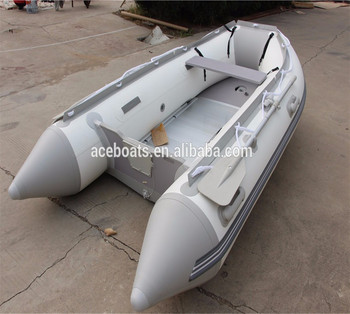 360cm Alibaba Trade Assurance Escrow White And Light Grey Inflatable Boat  Pvc Tube Boat Asd-360 With Ce For Hot Sale!!! - Buy Zodiac Inflatable Boats