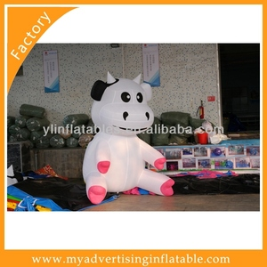 New arrival vivid design advertisement inflatable cartoon character,inflatable Ox cartoon model