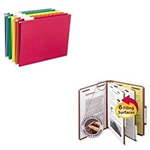 KITSMD14075SMD64059 - Value Kit - Smead Pressboard Classification Folders (SMD14075) and Smead Hanging File Folders (SMD64059)
