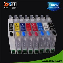 Hot selling factory direct sell refillable ink cartridge for Epson R800