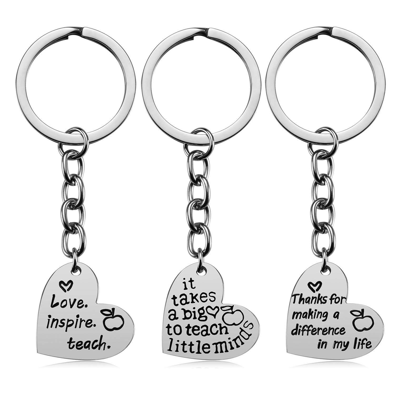 Buy Teacher Appreciation Gifts for Women, 3PCS Heart Pendant