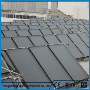Hot sale factory direct price rigid solar heater panels Flat Plate Solar Collector