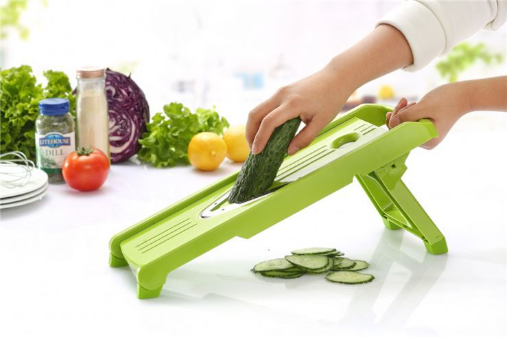 2017 new products mandoline v -balde slicer