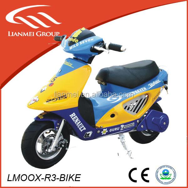 proveedor chino 49cc gas scooter mini pocket bike bici de. Black Bedroom Furniture Sets. Home Design Ideas