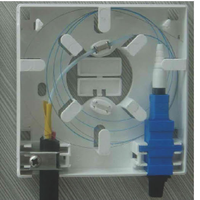 Flame-retardant PC Optical Fiber Faceplate FTTX