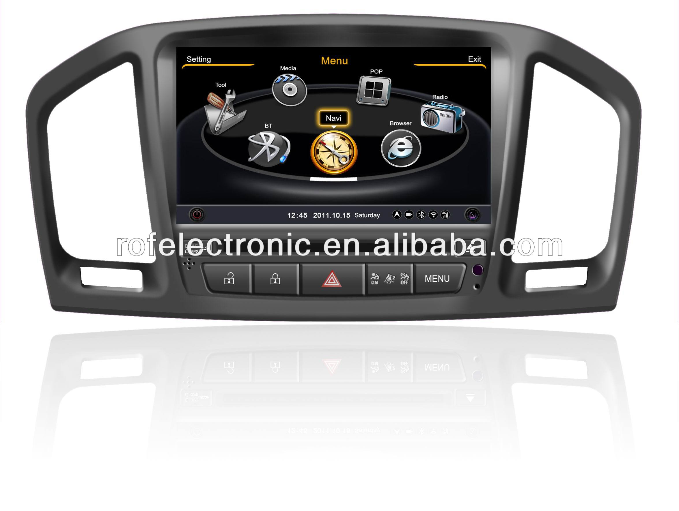 "7"" touch screen car dvd with gps for OPEL INSIGNIA"