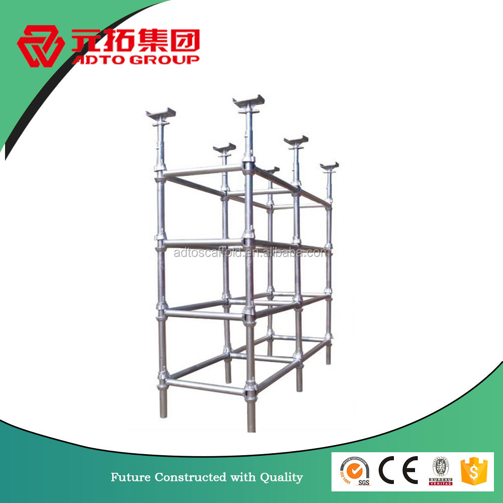 Best price construction used cuplock scaffolding system for sale in uae