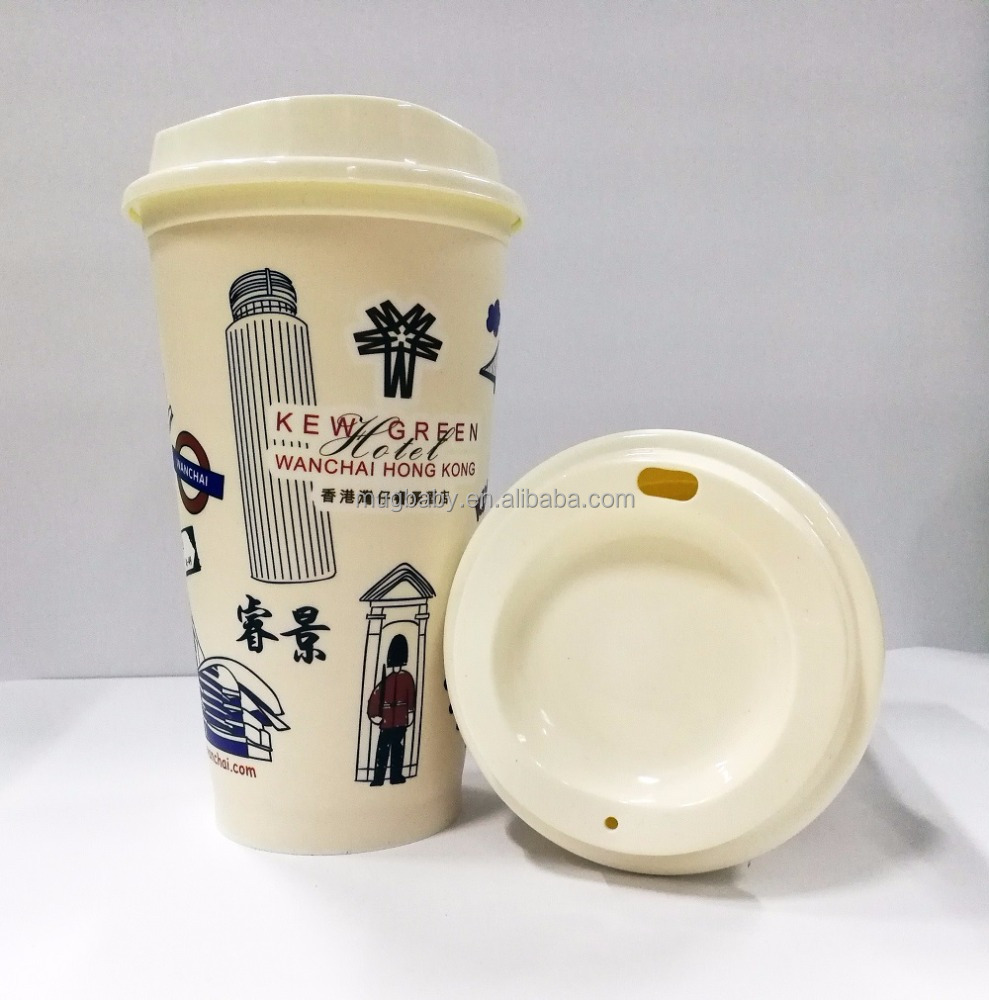 16oz coffee cup with lid reusable coffee cup custom