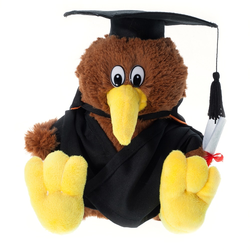 Graduation Cute Plush Toy Kiwi Bird Soft Graduation Kiwi Bird