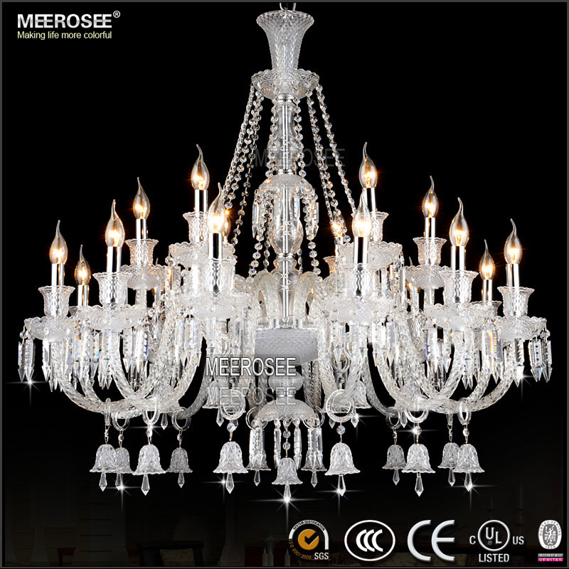Bell Crystal Beads Cleaning Chandeliers Replacement Globes Spanish Chandelies MD2397 L18