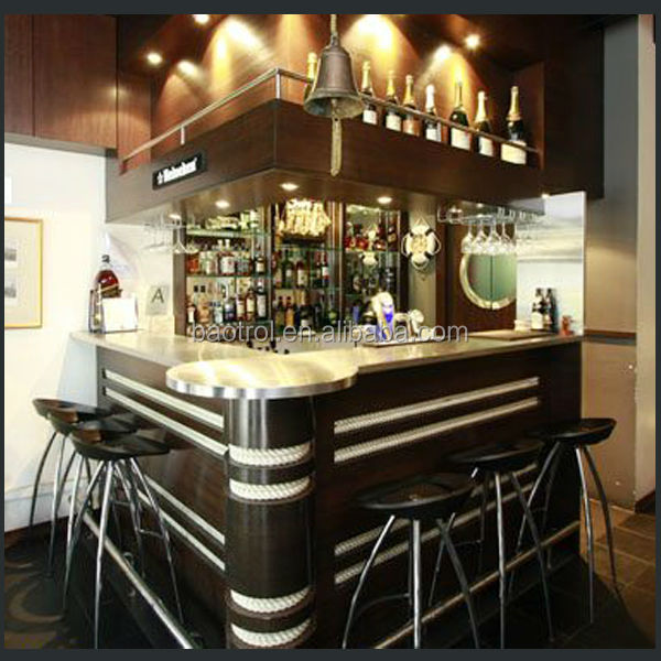 Muebles de estilo cl sico la barra bar dise o madera mini for Diseno de barras de bar en madera
