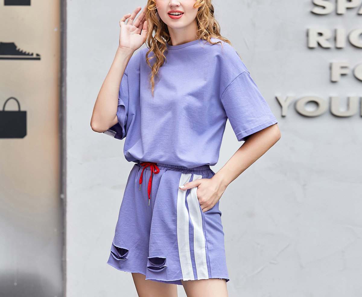 Women's Summer New Sport - Suit Short - Sleeved T-Shirt