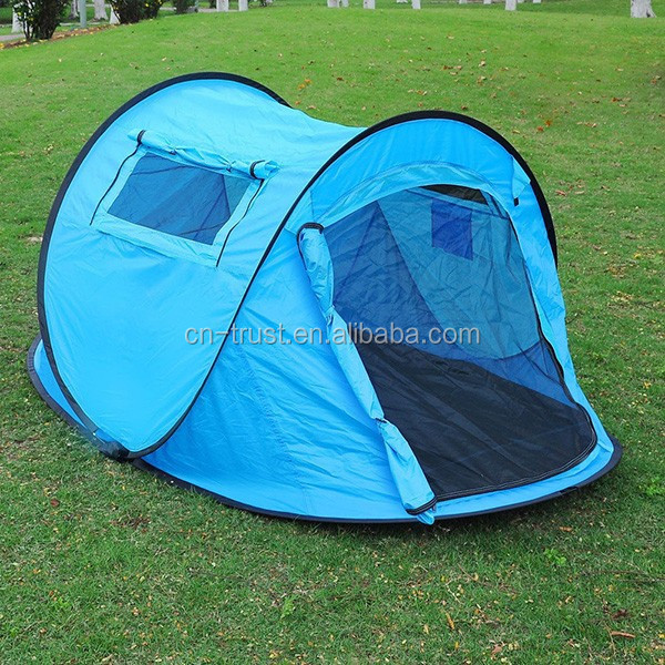 Blue Automatic Pop Up Children Beach Tent Shelter & Buy Cheap China pop up beach shelter Products Find China pop up ...