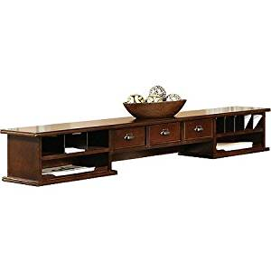 Midtown Long Hutch for Midtown Writing Desk, Cherry