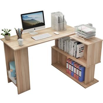 Modern Meja Sudut Untuk Rumah Kayu Laptop Meja Kantor Meja Belajar Dengan Rak Penyimpanan Buy Kayu Meja Komputer Meja Laptop Meja Komputer Product