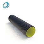 High Quality Double Wall 8 Inch Yellow Color Inner Twin Double Wall Corrugated Drain Pipe