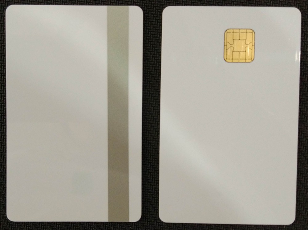 High quality JCOP plastic cards j2a040 j2a080 contact IC blank smart card