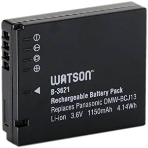 Watson DMW-BCJ13 Lithium-Ion Battery Pack (3.6V, 1150mAh) -Replacement for Panasonic DMW-BCJ13 Battery Panasonic DMC-LX5 , DMC-LX7
