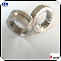 CNC machined stainless steel parts for water heating equipment