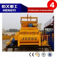 JS 500/2015 New product/Factory direct sell/High quality portable concrete mixer with plastic drum