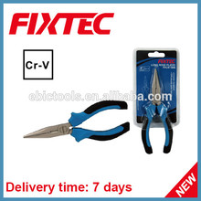 "fixtec hand tool 6"" long pointed nose pliers function"